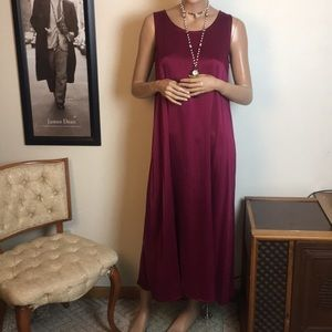 Eileen Fisher Silk Maxi Dress